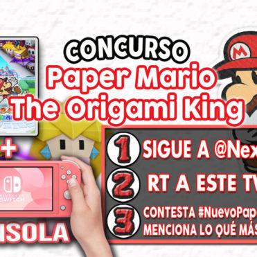 Concurso Paper Mario The Origami King